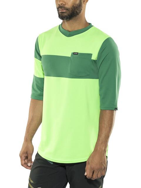 Dakine Vectra Fietsshirt korte mouwen Heren groen